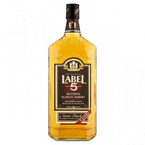 Label 5 Whisky £15 a litre instore / online @ Morrisons