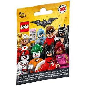 Purchase a Lego Batman Movie minifigure from Toys R Us for £5.94 and receive £6 Quidco cashback. New Quidco Members Only.