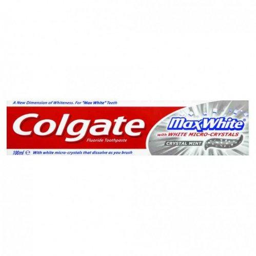 Colgate Max White Toothpaste 100ml  50p @ Poundstretcher