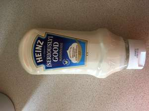 Heinz Seriously Good Mayonnaise 800ml Reduced to Clear Tesco £1.00