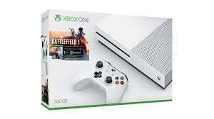 Xbox One S 500GB Bundle with Battlefield 1 plus Additional White Wireless Controller £229.99 Delivered @ GAME