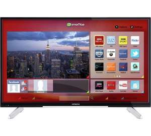 Hitachi 55 Inch 4K Ultra HD FVHD Smart TV  £359.99 + free CaC with code TVS10 @ ARGOS.CO.UK