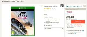 Forza Horizon 3 Xbox One £28 @ Tesco