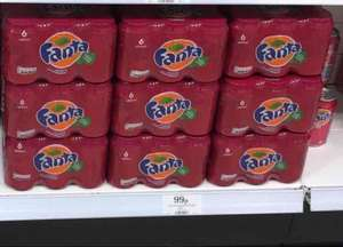 Fanta Apple & Sour Cherry 6 x 330ml - 99p at Home Bargains