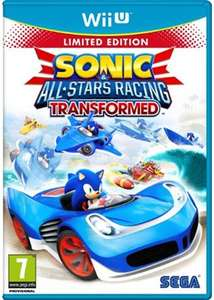 Sonic and All Stars Racing Transformed: Limited Edition (Wii U) £11.99 Delivered @ Base
