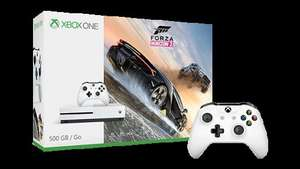 Xbox One S 500GB Console - Forza Horizon 3 Bundle + Free Controller and  £10.50 Quidco   £229.99  Microsoft Store