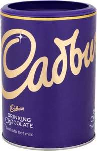 Cadbury Drinking Chocolate Fairtrade (500g) was £3.00 now £1.50 @ Morrisons
