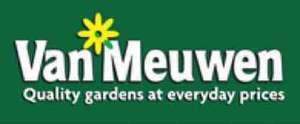 Exchange £5 Tesco clubcard voucher to £15 spend at Van Meuwen Garden plants