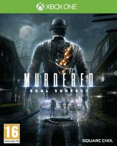 XBOX ONE game Murdered: Soul Suspect  £7.49 new ! ordered@ game