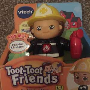 Vtech toot toot friends firefighter Aiden £2 usually £8 instore @ Asda