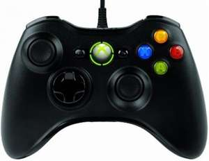 Official Xbox 360 (Microsoft) Wired Controller - Black £16.62 @ Tesco instore