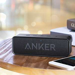 Anker Soundcore 6W 24-Hour Battery Portable Bluetooth Stereo Speaker in Black - £20.99 - Sold by AnkerDirect and Fulfilled by Amazon