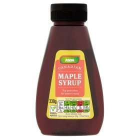 Asda 'Chosen by You' pure Canadian maple syrup £3.48