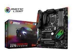 MSI Z270 Gaming Pro Carbon Motherboard - £20 Cashback, Free Siberia Gaming Headset and Free Copy of For Honour - £159.95 @ Novatech