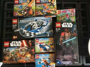 Lots of lego reductions instore at Asda Sheffield handsworth starting at £1.75