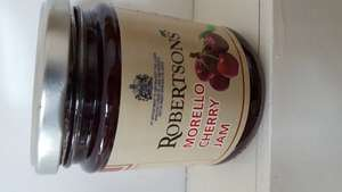 robertsons morello cherry jam 340g 49p in b&m