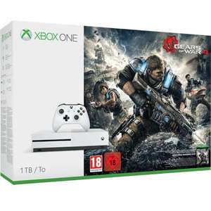 Xbox One S 1TB Console - Includes Gears of War 4 £239.99 Delivered @ Zavvi