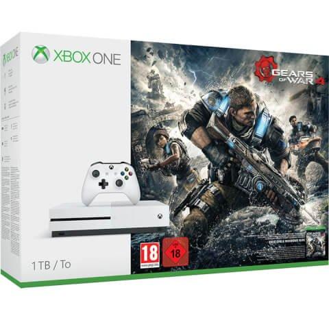 Xbox One S 1TB Console - Includes Gears of War 4 £239.99 Delivered @ Zavvi