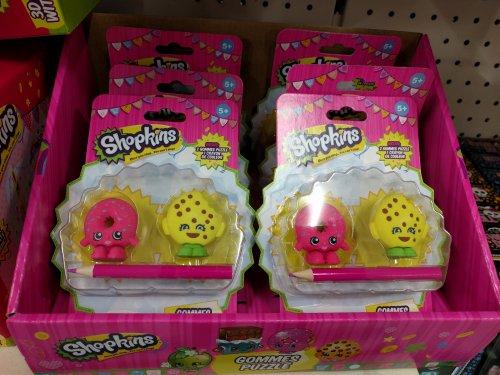 Shopkins Puzzles Erasers £1 @ Poundland