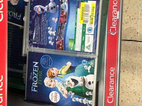 Frozen fever DVD 15p @ Hanley Tesco instore