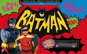 Batman: The Complete TV Series - Limited Box Edition [Blu-ray] [1966] [Region Free] £60.99 on Amazon (was £110)