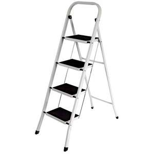 4 Safety Step Ladder w/ Nonslip Mat £19.95 @ eBay - homediscountltd  FREE DELIVERY