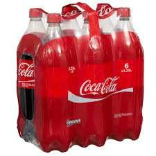 Coca Cola and Diet Coke 6 x 1.25L Bottles £3 - Asda