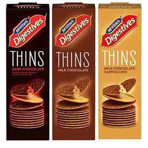 Dieters Rejoice- the NEW McVities Digestives Thins, with only 31 Calories a Biscuit, are just £1 at Tesco