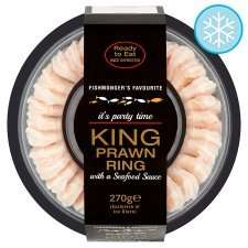 King Prawn rings with sauce  £1.00 now in store @ Tesco - Cardiff