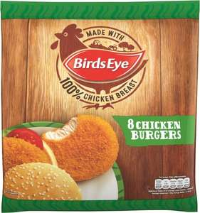 Birds Eye 8 Chicken Burgers 400g was £2.00 now 2 packets for £3.00 (So 16 burgers in Total)  @ Iceland