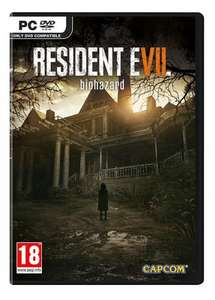 Resident Evil 7 PC physical (Steam Activation) £26.86 free delivery@ ShopTo