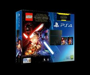 Used - Very Good - Sony PlayStation 4 500GB Console with LEGO Star Wars: The Force Awakens Game + Blu-Ray Movi £161.82 @ amazon warehouse