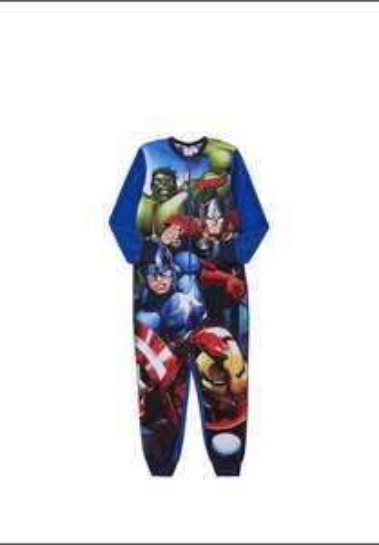 Marvel The Avengers Fleece Boys Onesie (Sizes - 5-6, 6-7 and 7-8) £4.00 @ Tesco Direct (Free C&C)