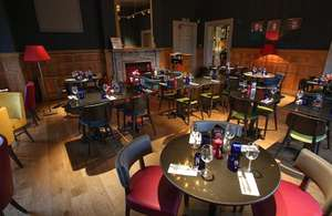 Pizza Express for Valentine, Two courses, Two people, NUS card, under £17.50 instore