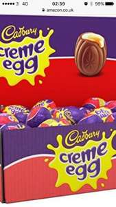 48 Cadburys Cream Eggs only £15.80 delivered with Amazon - Prime Exclusive