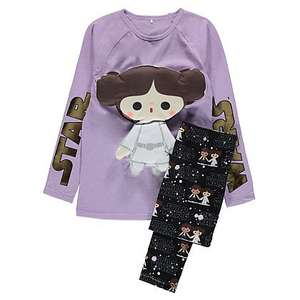 Star Wars Princess Leia pyjamas and soft toy £5 (free C&C) @ Asda George