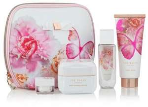 Ted Baker Fit for a Queen gift set now £25 & Champneys Well Earned Treat Gift set worth £57 now £22 @ Boots