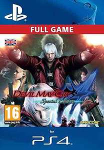 Devil May Cry 4 Special Edition [PS4 PSN Code - UK account] £9.99 @ amazon
