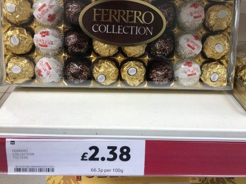 Ferraro Collection 32 pieces only £2.38 Tesco instore
