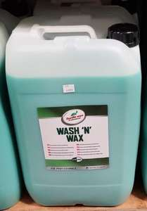 Turtle Wax 'Wash n Wax' £16 instore @ Costco