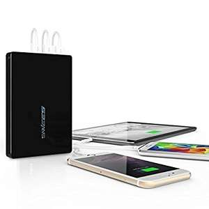 Swees 25600mAh Ultra High Capacity Power Bank (3 USB Port, 4.5A Output) Portable External Battery Charger - Black £18.99 (Prime) / £23.74 (non Prime) Sold by swees-shop and Fulfilled by Amazon.