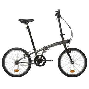 Hoptown 300 folding bike. Single speed low maintenance £129 @ decathlon
