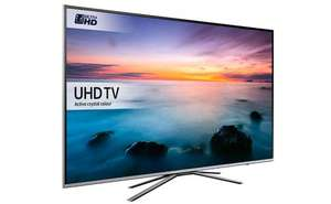"Samsung UE40KU6400 40"" 4K HDR Ultra-HD Flat Smart LED TV 1500 PQI Silver at Sonic Direct for £429.95"