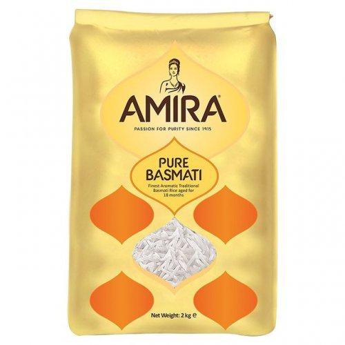 Half price Amira pure basmati rice 2kg for £2.25 or £1.13/kg (equivalent to 76% off Waitrose regular price) @ Morrisons