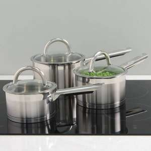 professional induction cooking pan set £89 @ procook