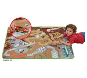Hot Wheels Playmat and 1 car £8.99 from £19.99 at Argos free C&C
