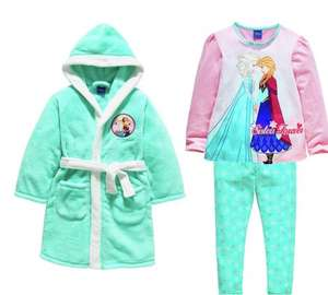 Disney frozen dressing gown and PJ set at Argos now reduced to £5.99 from £24.99 free C&C