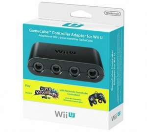 Gamecube Controller Adapter for Wii U Smash Bros £10.99 Argos