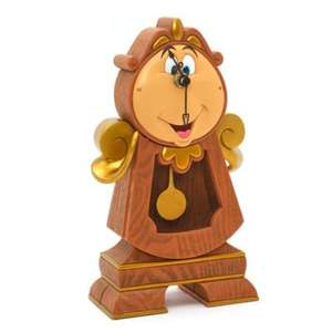 working Cogsworth £58.65 disneystore