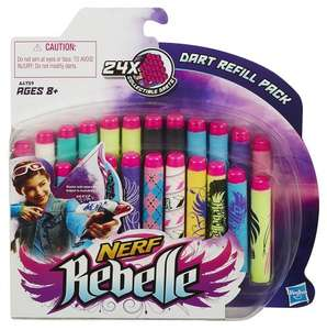 NERF Rebelle Secrets and Spies Dart Refill Pack - £2.25 instore Asda Newcastle